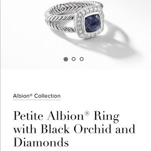 David Yurman Petite Albion Ring Size 7
